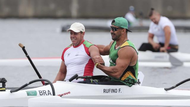 Norberto Mourão medalha de bronze nos Mundiais de canoagem adaptada