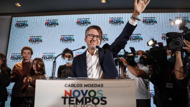 Moedas 'conquistou' Lisboa ao PS. Os resultados das autárquicas em Lisboa