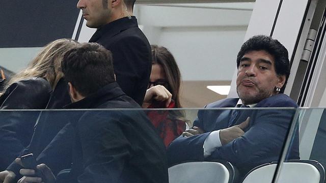 Reveladas as últimas palavras de Maradona. O pior cenário já se temia