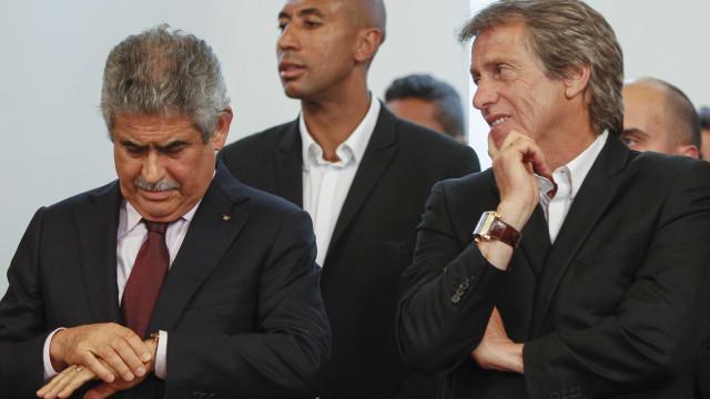 Haverá princípio de acordo entre Luís Filipe Vieira e Jorge Jesus