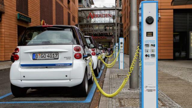 """Carregamentos pagos de carros elétricos para todos """"depende do Governo"""""""