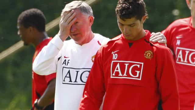 """Alex Ferguson revela o segredo de CR7: """"Seria sempre um grande jogador"""""""