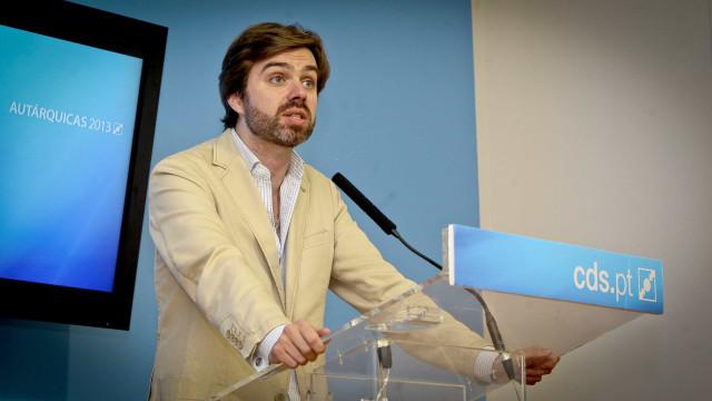 """Europeias: CDS lamenta abstenção """"tão alta"""""""