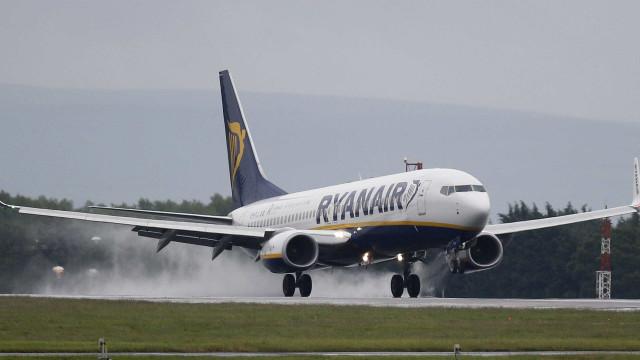 Greve não cancelou nem atrasou voos da Ryanair em Portugal