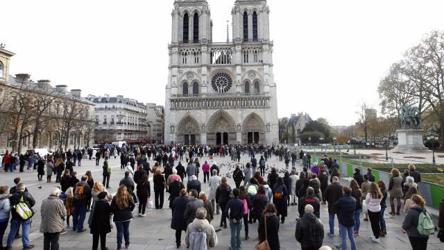 Oito pessoas julgadas por ataque falhado à catedral de Notre Dame
