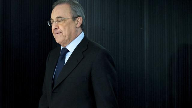 Presidentes de Real Madrid e Juventus reunidos durante mais de 3 horas