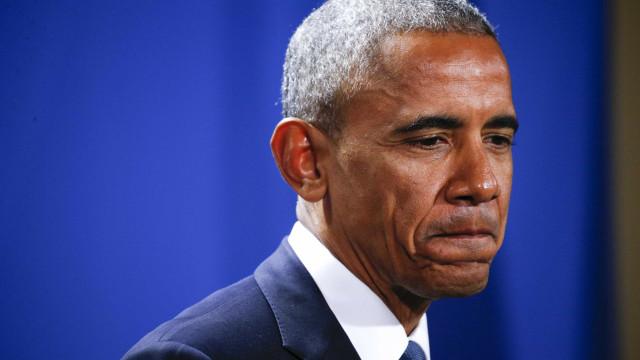 """Trump """"tem inveja da cobertura mediática da Covid-19"""", ridiculariza Obama"""
