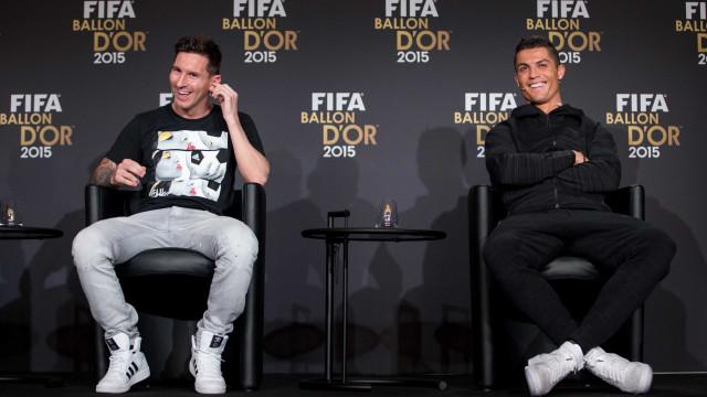 Messi ou Ronaldo? UEFA já terá decidido quem é o melhor jogador do ano