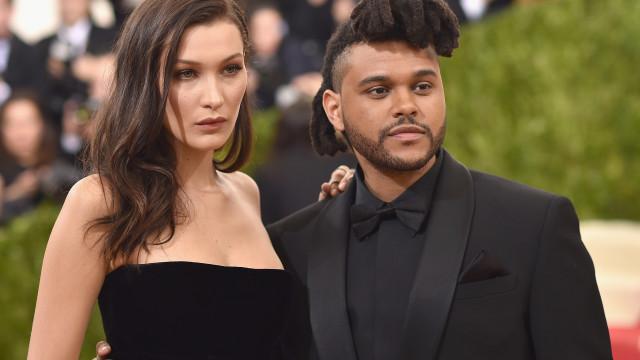 Ui! Bella Hadid saiu de uma discoteca a correr para evitar The Weeknd