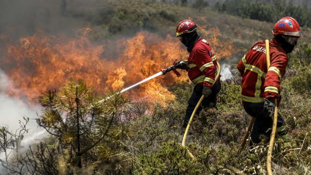 Incêndio em Aljustrel combatido por três meios aéreos