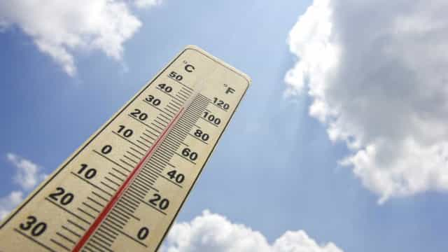 Vaga de calor. Temperaturas podem ultrapassar os 40 graus no verão
