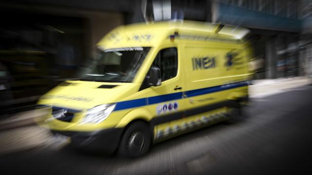 Um ferido grave em acidente com autocarro de estudantes na Covilhã