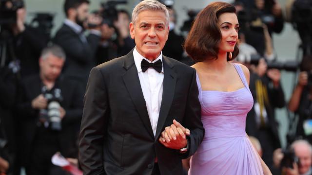 George Clooney teme pela segurança da sua família. Eis o porquê