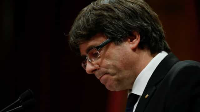 "Puigdemont classifica sentença de independentistas como ""barbaridade"""
