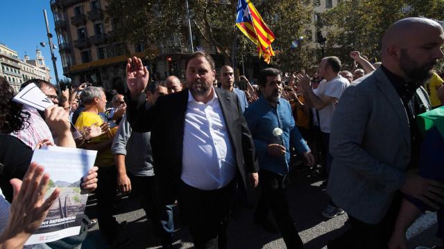 Supremo espanhol condena independentistas catalães até 13 anos de prisão