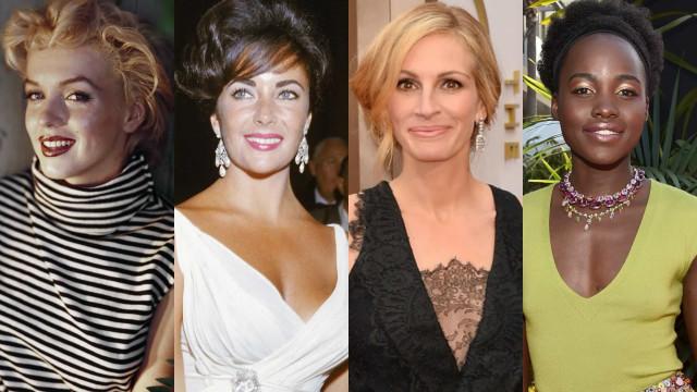 As atrizes mais bonitas de todos os tempos