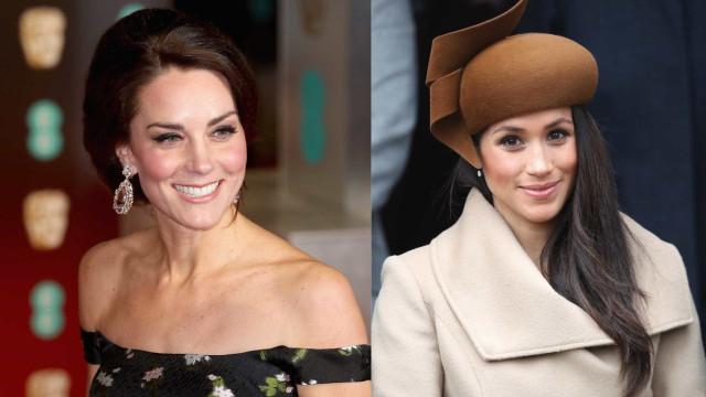 Kate Middleton e Meghan Markle querem ser amigas