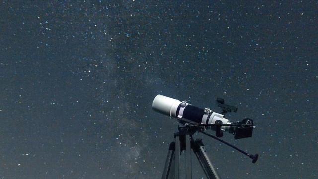 Telescópio vai estudar regiões escuras do Universo. Equivalem a 200 luas