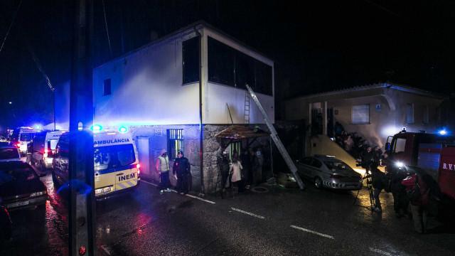 Explosão em Tondela
