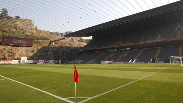 [0-0] Sp.Braga-G. Rangers: Intervalo na Pedreira