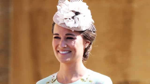 O vestido floral que Pippa Middleton escolheu para o casamento do irmão