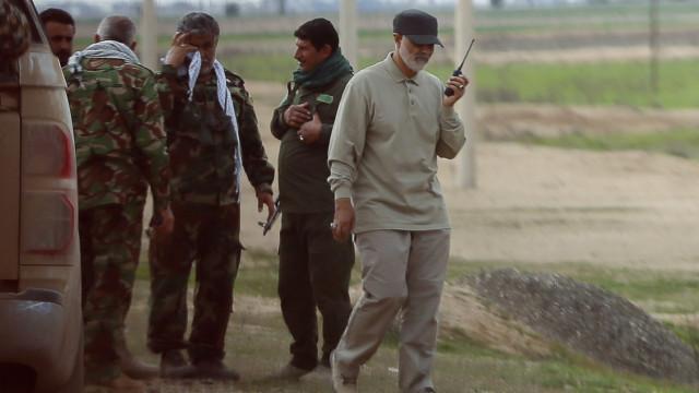 """""""Irão está preparado para a guerra"""", diz general"""