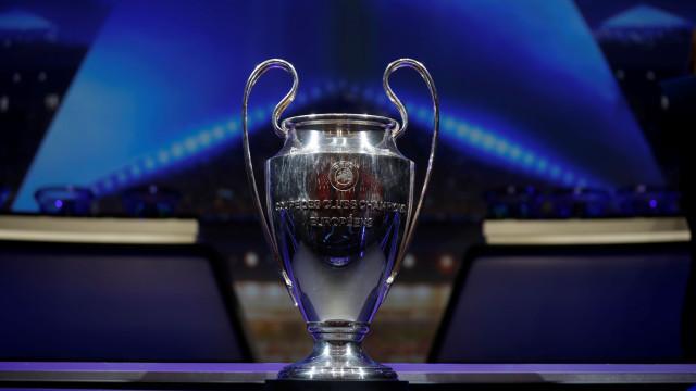 Liga dos Campeões: Siga em direto todos os resultados e marcadores