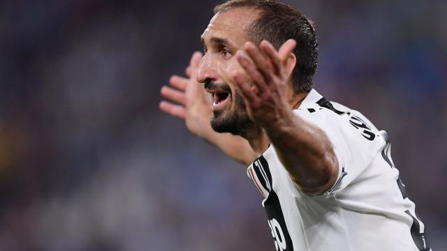 Chiellini 'anuncia' o nome do novo treinador da Juventus