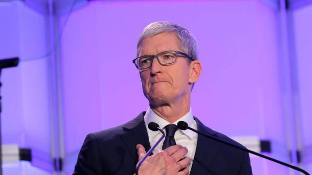 O CEO da Apple está a ser perseguido