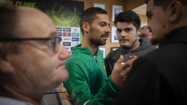 """Nuno Pinto e o regresso: """"Nem dormi nessa semana"""""""
