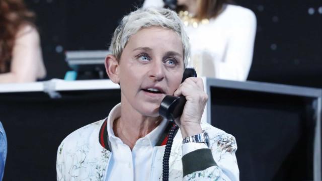 Ellen DeGeneres reclamou da manicure de empregada de mesa