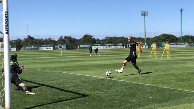 Bas Dost falha treino do Sporting para tratar de futuro desportivo