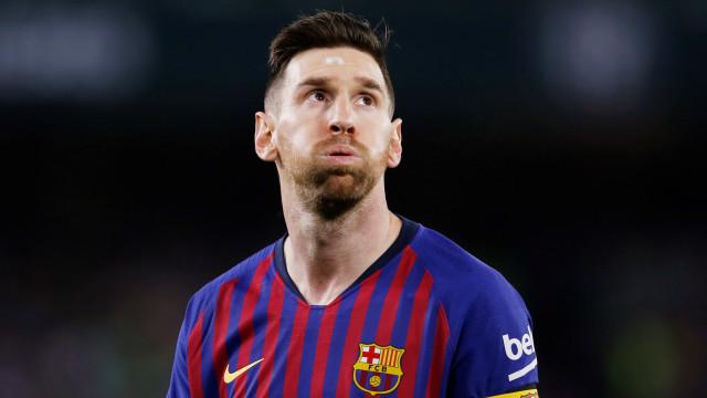 Avião privado de Messi fez aterragem de emergência em Bruxelas