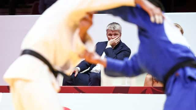 Portugal conquistou a medalha de prata na prova de equipas mistas de judo