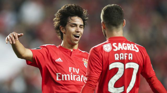 Benfica nega processo negocial para a transferência de Félix