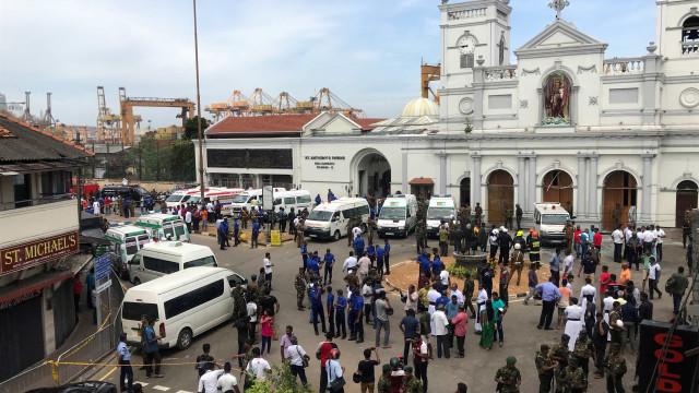 Ataques Sri Lanka