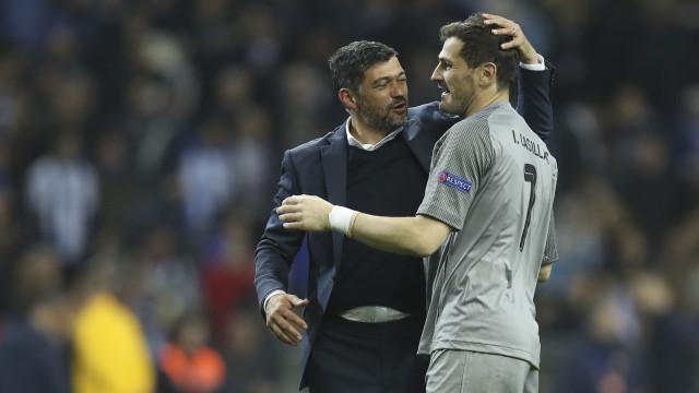 """Conceição aborda situação de Casillas: """"Está a passar momentos difíceis"""""""