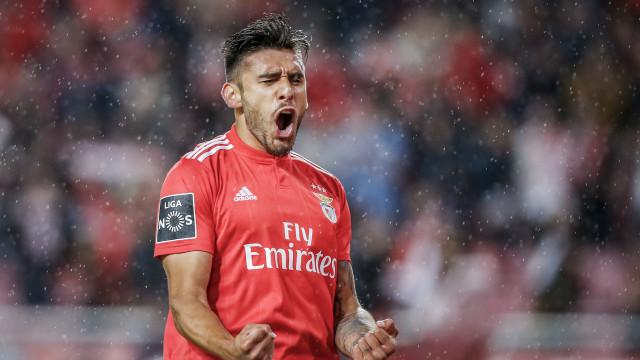 """Salvio despede-se do Benfica com um... """"Até já"""""""