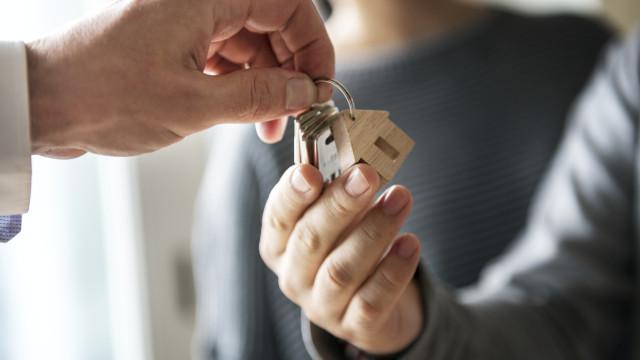 Procura de crédito para compra de casa aumentou ligeiramente