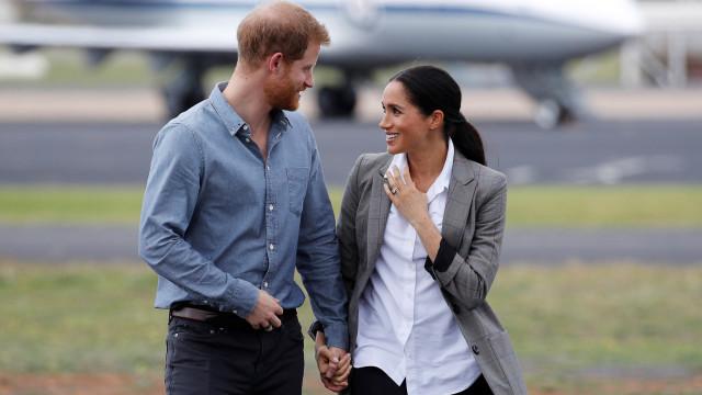 Harry e Meghan Markle não se vão juntar à família real este fim de semana