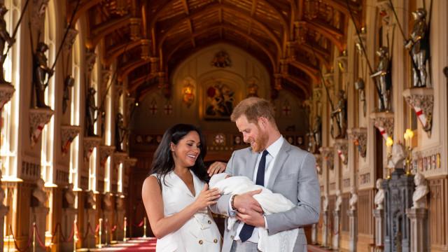 Já há data para o batizado do filho de Meghan Markle e Harry