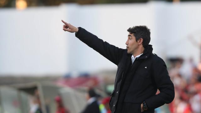"""Bruno Lage rendido a Herrera: """"Foi o jogador que mais me impressionou"""""""