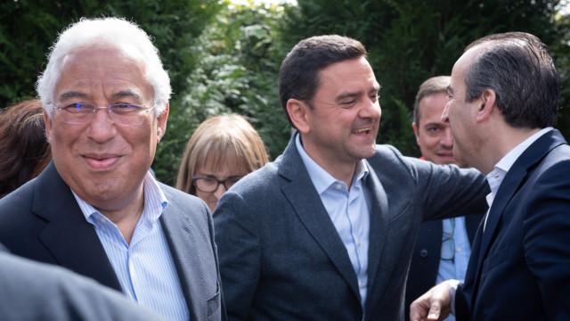Europeias: Líderes dos maiores partidos acompanham hoje candidatos