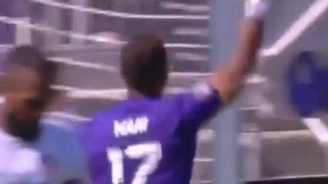 Os dois golos de Nani na goleada do Orlando City