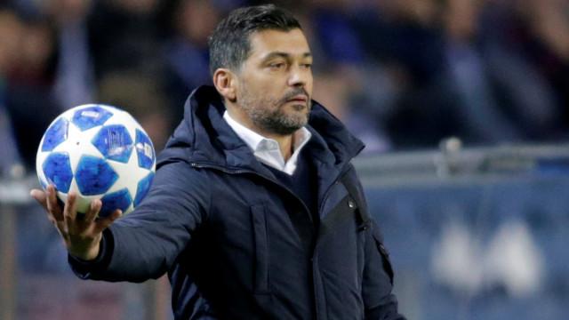 Conceição confirma pedido de avançado do Spartak de Moscovo à direção