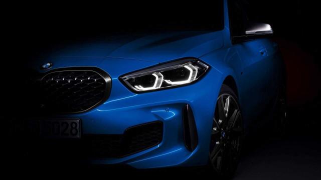 BMW revela novas imagens do seu novo Série 1