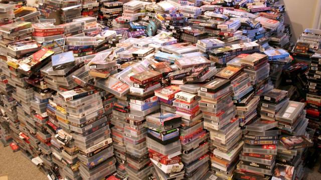 Gravou noticiário durante 33 anos. Deixou 70 mil cassetes de vídeo