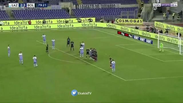 Milinkovic-Savic salva Lazio de derrota com livre irrepreensível