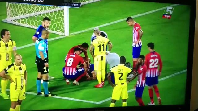 Uma lesão arrepiante: Diego Costa regressou aos relvados e gritou de dor