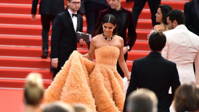 Sara Sampaio... e não só. As estrelas que têm deslumbrado em Cannes